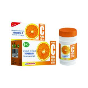 Vitamina C pura retard, 30 comprimidos